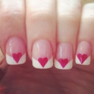 heart-french-manicure